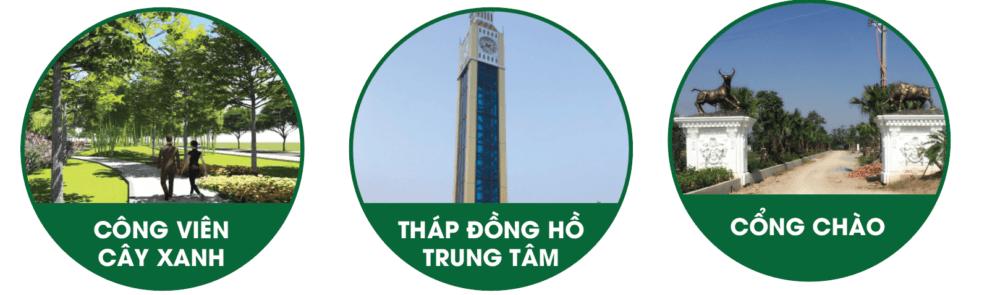 tiện ích Green Park Hưng Hà