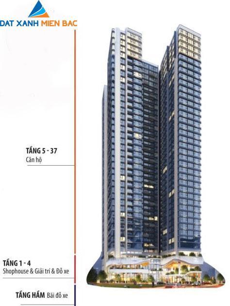 Phân tầng Hoàng Huy Grand Tower