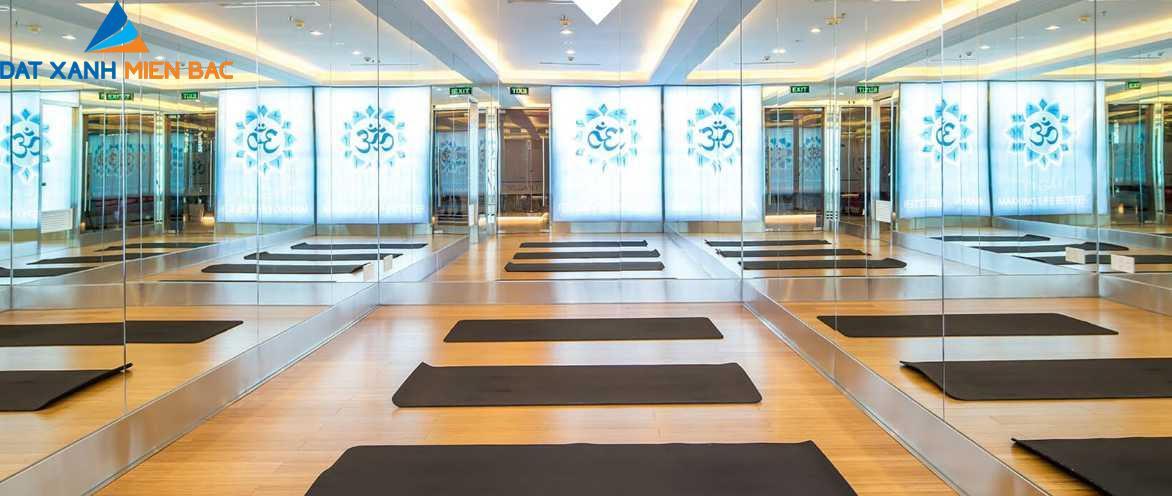Phòng tập Yoga cao cấp (ảnh minh họa)