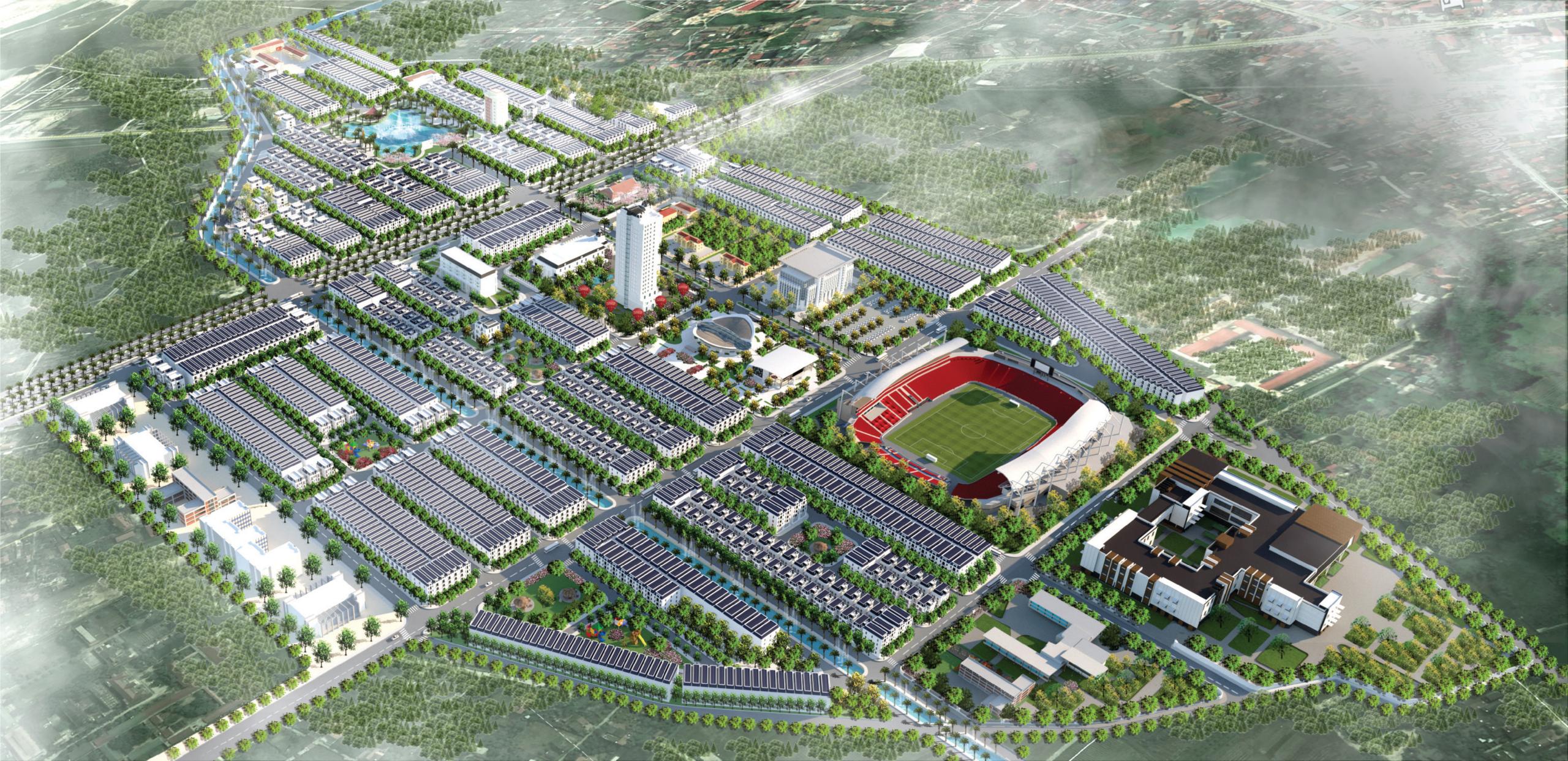 Mặt bằng tổng thể dự án Chí Linh Palm City